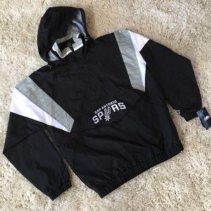 3a88f06a1 STARTER Jackets   Coats - Starter X NBA San Antonio Spurs Vintage Jacket L